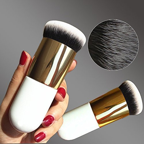 Hrph New Chubby Pier Foundation Pinsel Flach Creme Make-up Pinsel professionellen Kosmetik Make-up Pinsel