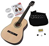 Classic Cantabile Acoustic Series AS-851 7/8 - Guitarra de concierto set para principiantes