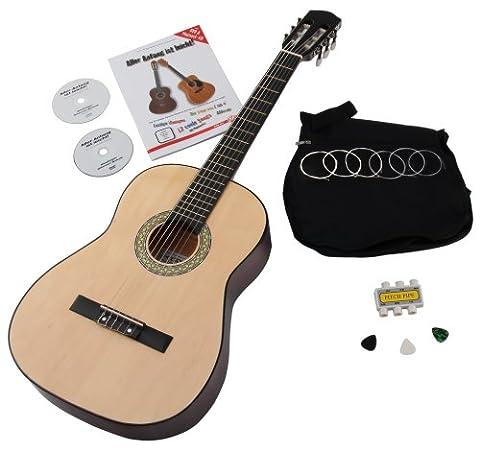 Classic Cantabile Acoustic Series AS-851 7/8 Starter Set Guitare de Concert