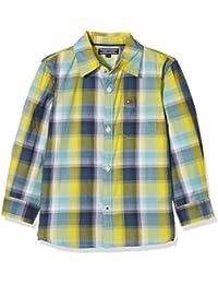 Tommy Hilfiger Chk Shirt L/S, Blusa para Niños