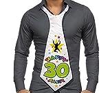 CRAVATTONE 30 ANNI - Cravatta Gadget idea regalo festa 30° Compleanno uomo