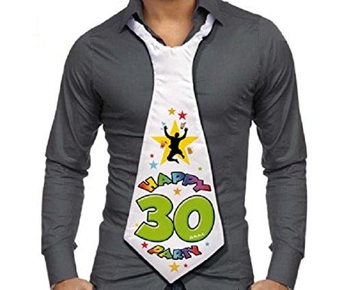 Cravattone 30 Anni Cravatta Gadget Idea Regalo Festa 30 Compleanno Uomo