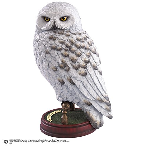 "Hedwig - Handpainted Sculpture 9.5"" Noble Collection Harry Potter Repl"