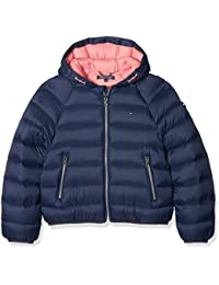 Tommy Hilfiger Thkg Lt Down Crop Jacket, Blouson Fille