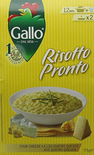 Gallo Risotto Pronto 4 Cheese 175 g (Pack of 6)