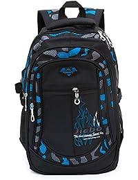 Backpack Boys School Bags Big Bookbags Durable Heavy Duty Student Kids Travel Waterproof