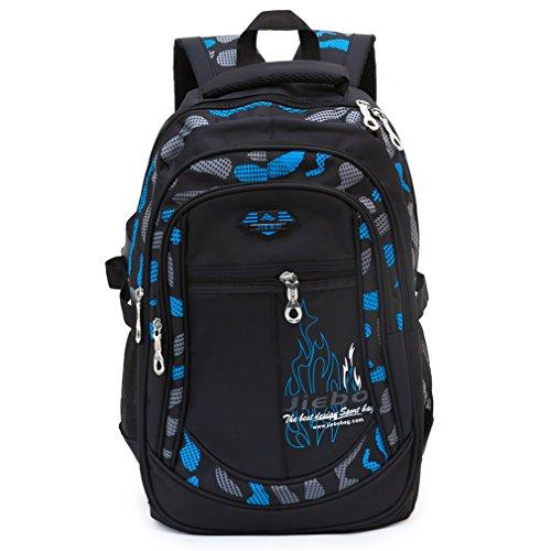 Jungen Schulrucksack, Schultasche Schulranzen Sportrucksack Freizeitrucksack Daypacks für Jungen Jugendliche