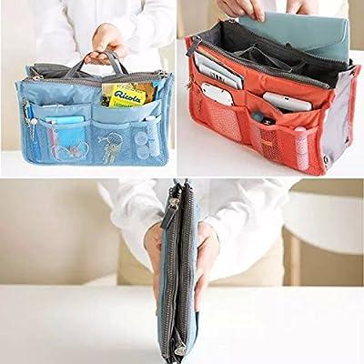 Liroyal Handbag Pouch Bag in Bag Organiser Insert Organizer Tidy Travel Cosmetic Pocket - low-cost UK light shop.