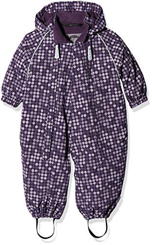 mikk-line Baby-Mädchen Schneeanzug 12120, Mehrfarbig (Purple Ash 703), 92