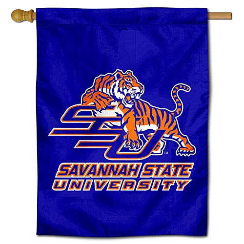Savannah State University Tigers (College Flags and Banners Co. SSU Tigers Doppelseitige Hausflagge)