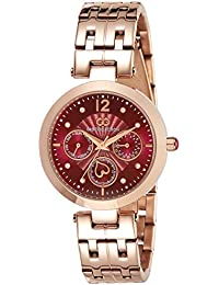 Gio Collection Analog Red Dial Women's Watch - G2017-44