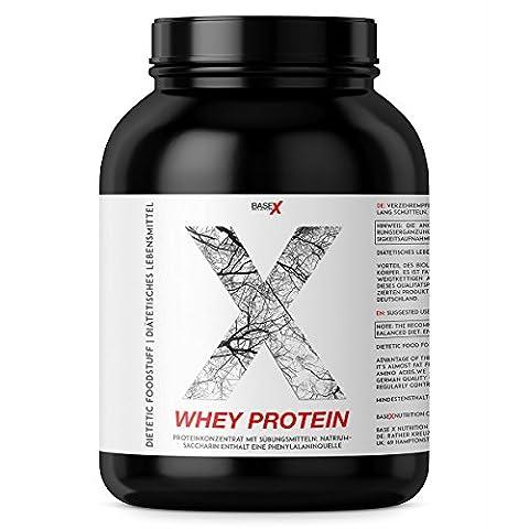 baseXnutrition, WHEY Protein, protéines de lactosérum, la base pour optimiser