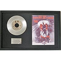 Shirley Bassey–17,8cm Platinum Disc & Song sheet- Diamonds are Forever