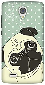 The Racoon Lean Pug Life hard plastic printed back case/cover for Vivo Y21