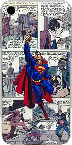 echc TPU Flexible Comic Superheld Fall Kompatibel für iPhone, 6 / 6s, Superman