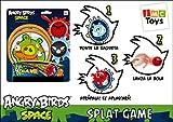 Angry Bird - 035041 - Jeu de Plein Air et Sport - Raquette & Balle - Splat Shot Ou Catch