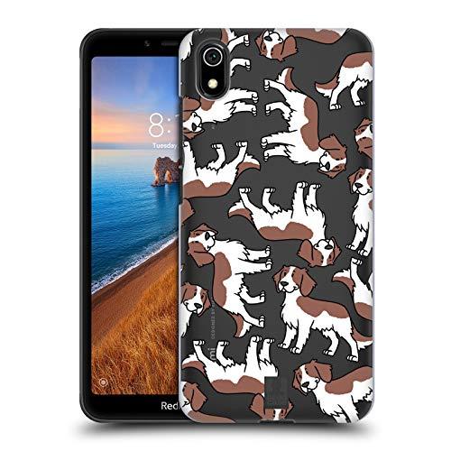 Head Case Designs Welsh Springer Spaniel Hunderassen Muster 13 Harte Rueckseiten Huelle kompatibel mit Xiaomi Redmi 7A (2019) -
