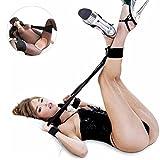SM Toy Hand und Fußfesseln mit (Augenbinde) | Paloqueth Fesselset Für die Fesseln Lust | SM Sexspielzeug für Einsteiger und Erfahrene