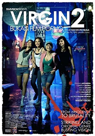 Virgin 2: Bukan film porno Affiche du film Poster Movie Vierge 2: Bukan film porno (11 x 17 In - 28cm x 44cm) Indonesia Style A