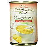 Jürgen Langbein Mulligatawny, Curry-Rahm-Suppe, 400 ml