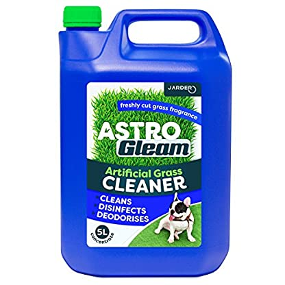 Jarder Astro Gleam Artificial Grass Cleaner - Concentrated Disinfectant & Deodoriser For Astroturf (5L) 1