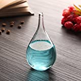 Essort Sturmglas, Wetterglas, Wettervorhersage, spezielles Geschenk für Kinder, Partner und Freunde blau