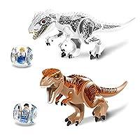 Faironly-Kinder-Dinosaurier-Bausteine-Kreative-Puzzles-Figur-Miniatur-Spielzeug-Geschenk-fr-Jungen Faironly Kinder Dinosaurier Bausteine Kreative Puzzles Figur Miniatur Spielzeug Geschenk für Jungen weiß -