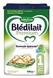 Blédina - Blédilait Premium 1er âge - 0 à 6 mois - Lot de 3x900g