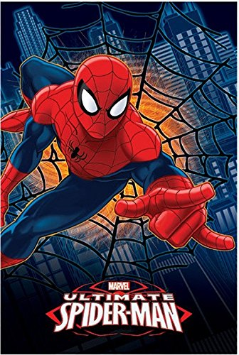 plaid-ultimate-spiderman-uomo-ragno-100x150-cm-03349