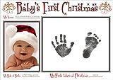 BabyRice Fuß- und Handabdruckset für Babys, zum ersten Weihnachtsfest