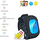 Best Locator Child Watch For Kids - GPS Smart watch enfant GPS Tracker kid safe Review