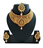 #7: pre bridal gold plated necklace set