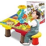 Zantec Tavolo Multi-gioco,Tavolini acqua e sabbia,Sabbiere e giocattoli da spiaggia,Sport e giochi all'aperto