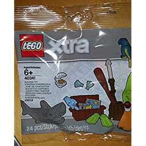Lego® Xtra Sea Accessories - Bring Seaside Fun to Your Universe!  LEGO
