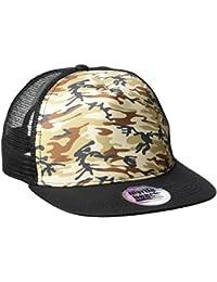 James & Nicholson Unisex Baseball 5 Panel Mesh Cap Camouflage