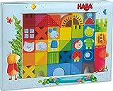 Haba 302580 Bausteine Katze, Maus und Company, Kleinkindspielzeug