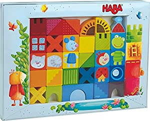 HABA 302580 Juguete de construcción - Juguetes de construcción (Stacking Blocks, Multicolor, 1.5 yr(s), 32 pc(s), Boy/Girl, Children)