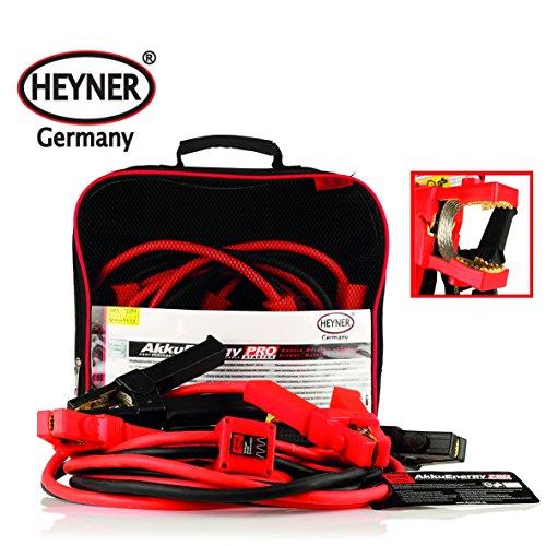 Heyner Professional Heavy Duty Booster Kabel/Jumping führt 25qmm 3,5m 350A (25 Booster-kabel)
