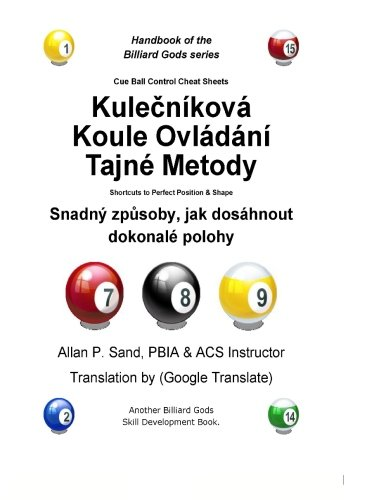Cue Ball Control Cheat Sheets (Czech): Shortcuts to Perfect Position and Shape