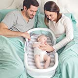 Babies Bloom Premium Cream Cosy Foldable Crib for Baby Travel (3 Months Onward)