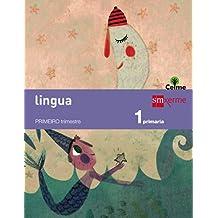 Lingua: letra a letra. 1 Primaria. Celme - 9788498544350