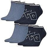Tommy Hilfiger Herren Sneaker American Heritage 4er Pack, Größe:43-46, Farbe:Jeans (356)