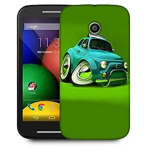 Snoogg Deformed Fiat 2621 Designer Protective Phone Back Case Cover For Motorola E2 / MOTO E22