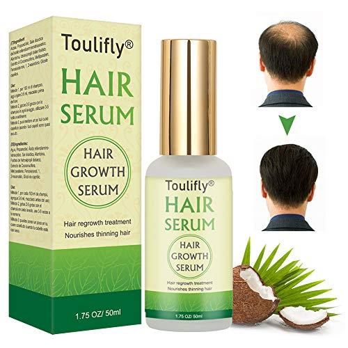 Haarwachstum Serum, Haar Wachstum Serum, Anti-Haarausfall, Haar Serum, für dünner werdendes Haar, Verdickung und Nachwachen, für schnelles Haarwachstum