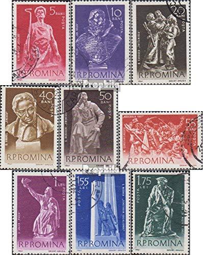 Prophila Collection Rumänien 1942-1950 (kompl.Ausg.) 1961 Werke rumänischer Bildhauer (Briefmarken für Sammler) Skulpturen (Rumänische Skulptur)