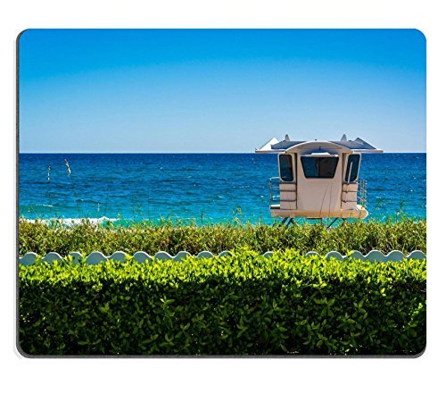 Jun XT Gaming Mousepad Bild-ID: 33941816Lifeguard Station und die Atlantic Ocean in Palm Beach Florida -