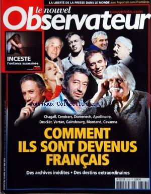 NOUVEL OBSERVATEUR (LE) [No 2373] du 19/...