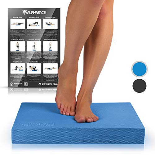 ALPHAPACE balance board fitness pad kissen balancekissen simplyball gleichgewichtstrainer wackelbrett physioterapie balanceboard brett trainer fit wackelkissen gleichgewichtsbrett sport gymnastikmatte