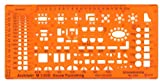 Standardgraph ST7341 - Möblierungsschablone Architekt - Maßstab 1:200