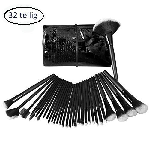 cdcr-32-teilig-make-up-pinselset-kosmetik-pinsel-lidschattenpinsel-rougepinsel-set-mit-tasche